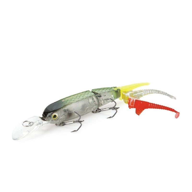 2015 minnow fishing lure 2 section fishing for Fish bait store