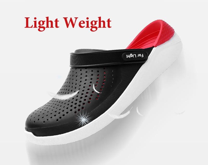 casais flip flops deslizamento-on crocse zapatillas