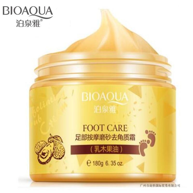 BIOAQUA 2017 New Foot Care Massage Cream Peeling Exfoliating Whitening Moisturizing Foot Spa Beauty Remove Dead Skin Foot Cream bioaqua exfoliante para pies
