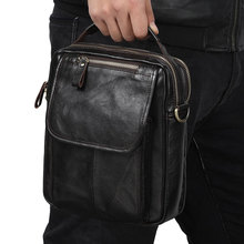 Middle Size Genuine Leather Men Messenger Bags Brand Male Handbags for Fashion Office Briefcases
