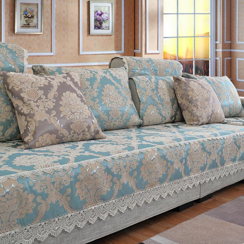 Индивидуальные классические Европейский диван полотенце диванную подушку Королевский соч ...