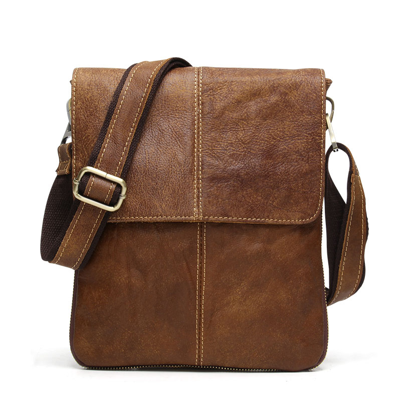 İsti satış kişi çantası inək hide orijinal dəri kişilər - Çantalar - Fotoqrafiya 2