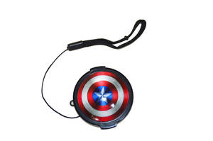 Cover Lens-Cap Fuji Leica Nikon Sony Captain-America 58mm Cartoon Canon 55mm 52mm 43mm