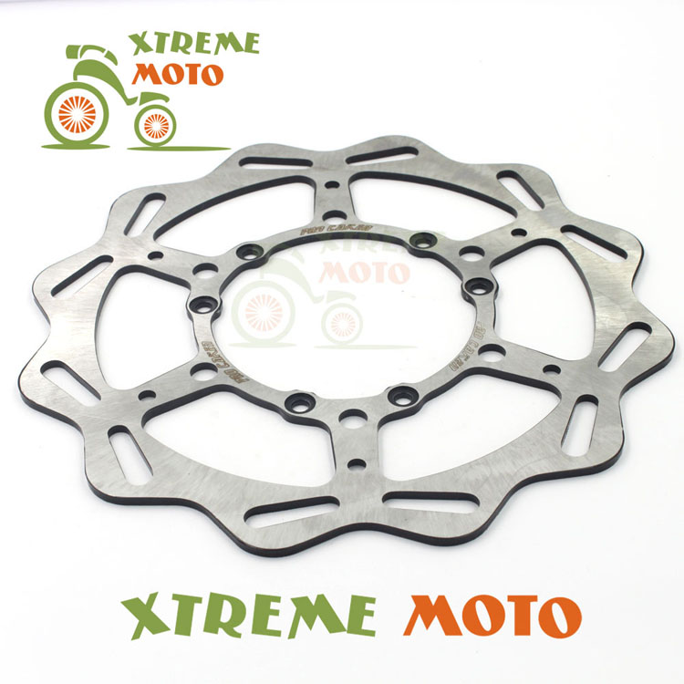 270MM Front Wavy Brake Disc Rotor For CR 125 250 500 CRF 250R 250X 450X 450R 230F Motocross Supermoto Enduro Dirt Bike Off Road