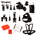 KingMa 7-in-1 Outdoor Sports Action Camera Accessories Family Kit GoPro Accessories Package Set for gopro HD Hero 4 3+ 3 LM4041