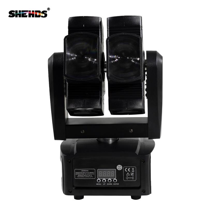 SHEHDS Stage Light DMX LED 8x10W RGBW 4in1 շարժվող - Կոմերցիոն լուսավորություն - Լուսանկար 2