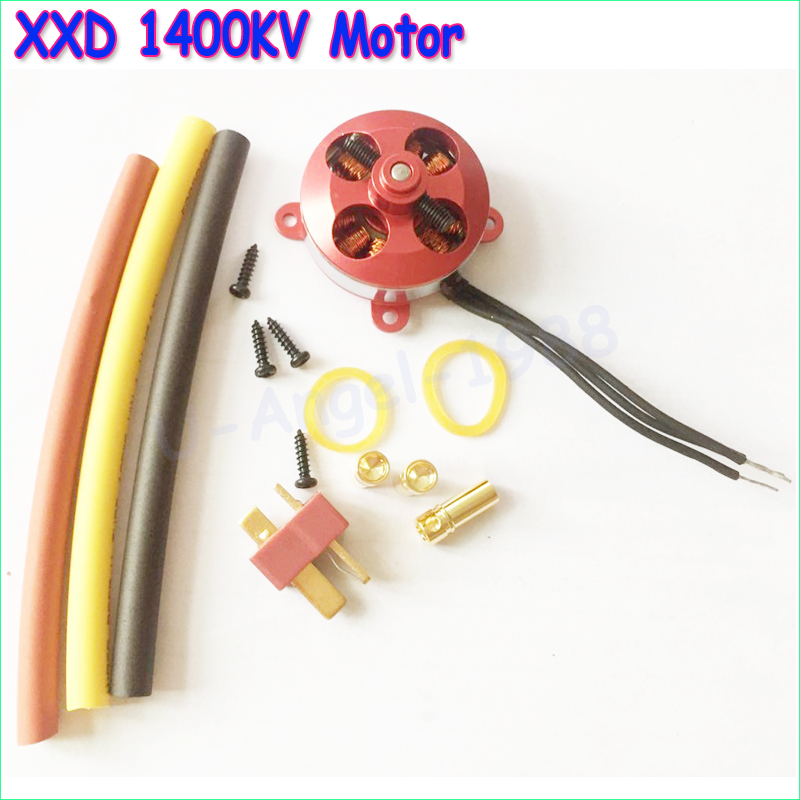 RC 1400KV Outrunner Brushless Motor 2204-14 For RC Aircraft/KK copter Quadcopter UFO free shipping emp n3536 1400kv 1000kv brushless motor outrunner motor for fpv quadcopter drone better than xxd a2814