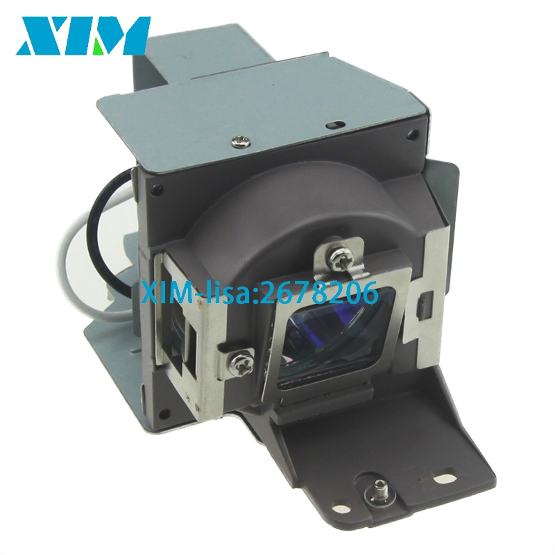 Compatible Projector Lamp with Housing 5J.J5205.001 For BENQ MS500/MS500+/MS500P/MS500-V/MX501/MX501V/MX501-V/TX501 5j j5205 001 original bare lamp for projector benq ms500 mx501 mx501 v ms500 projector