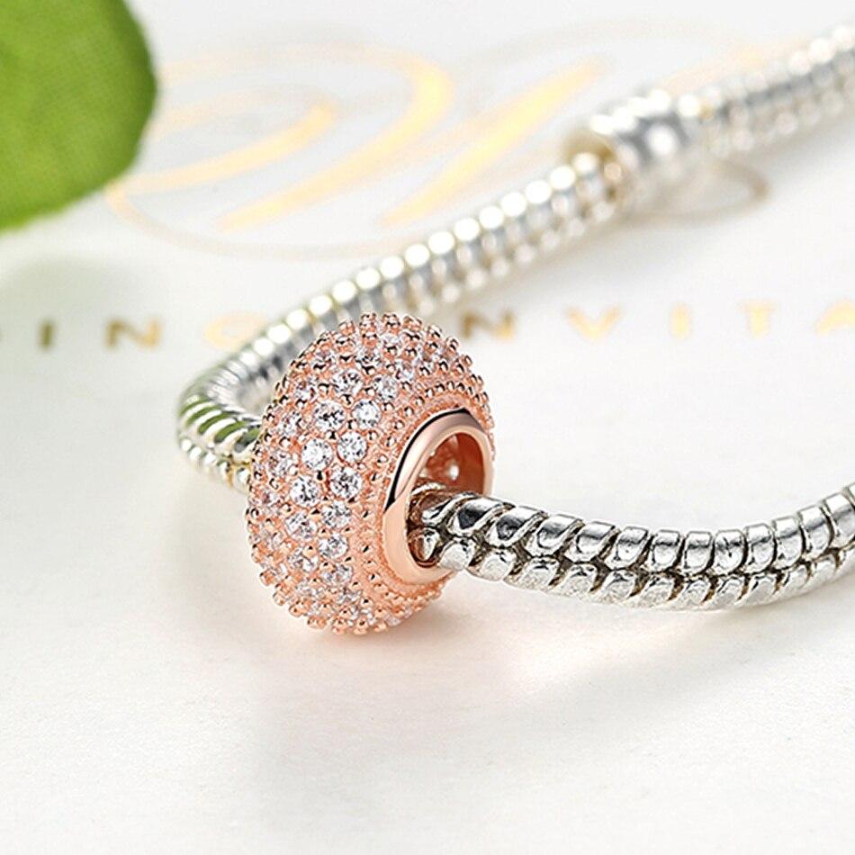 pandora rose gold bracelet heart