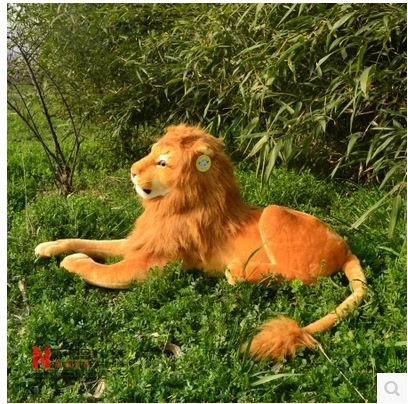 Free shipping Artificial lion 35cm.45cm.60cm.70cm Stuffed Plush Toys Animal artificial Simulation Lion toy Children's day gift pws6700t n hitech hmi touch screen human machine interface new in box