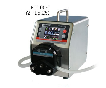 BT100F YT25 Intelligent Dispensing Dosing Filling Peristaltic Pump Industry lab Medical Tubing Pumps Precise 0.17-720ml/min