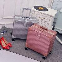 Новая мода прокатки багажные сумки алюминий рамки PC в виде ракушки TSA замок Путешествия Тележка случае чемодан с колесом