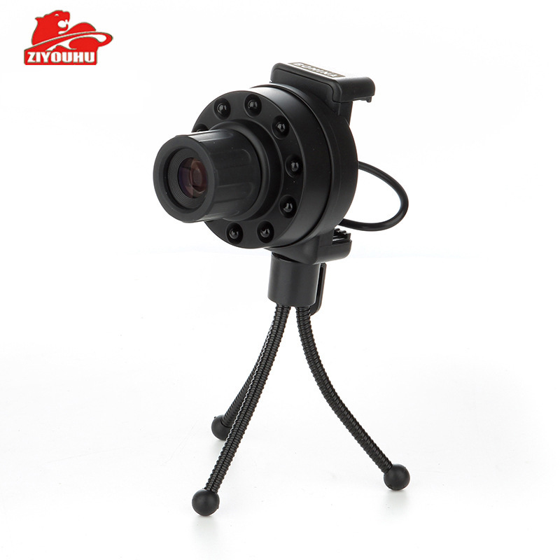 ZIYOUHU Night vision telescope Android mobile phone night vision lens night vision infrared multifunctional one night vision машинка для стрижки волос moser 1230 0051 primat light grey