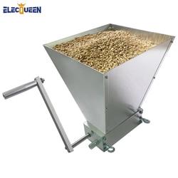 Novedad de 2020, trituradora de grano de molino de cebada de 2 rodillos, trituradora de grano para cerveza casera, venta al por mayor y triangulación de envío