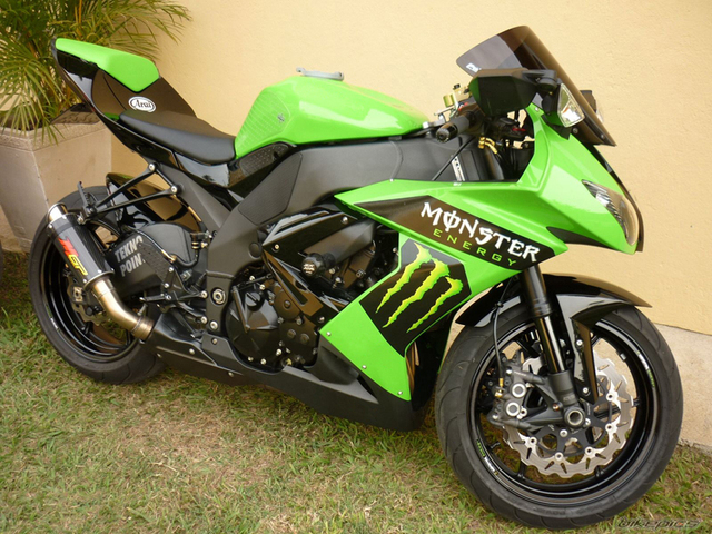 11lowest Price For Motorcycle Fairing Kawasaki Ninja Zx10r 2008 2009
