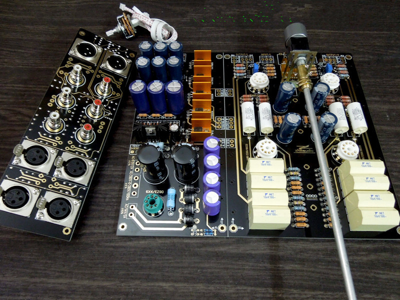 все цены на Dynamic&Passion Hi-Fi XLR Balanced Single-ended Preamplifier Board Valve 12AU7 Tube Preamp DIY Kit American ARC Circuit