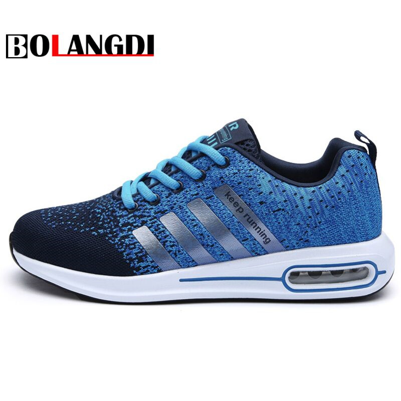 Bolangdi New Trend Summer Men Running Shoes Breathable Comfortable Outdoor Sports Athlet ...