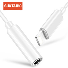 Suntaiho For Apple iPhone Adapter for iPhone 7 8 Plus Music Play for Lighting Adapter to 3.5mm Jack for iPhone X 8pin Adapter