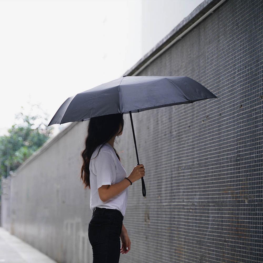 Image 4 - Xiaomi składany parasol automatyczny WD1 23 cale mocny wiatroszczelny bez folii przeciwsłoneczny wodoodporny anty uv parasol słonecznyInteligentny pilot zdalnego sterowaniaElektronika użytkowa -