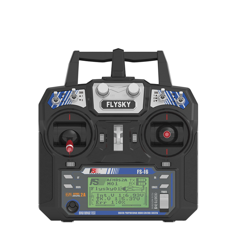 FATJAY FLYSKY I6 FS-i6 Transmitter With IA6 Receiver 2.4G 6-channel RC Radio Control System