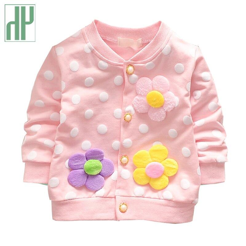 Children jacket long sleeve girls spring jacket floral Flowers girls coat Windbreaker Infant coat Baby girl jacket Outerwear