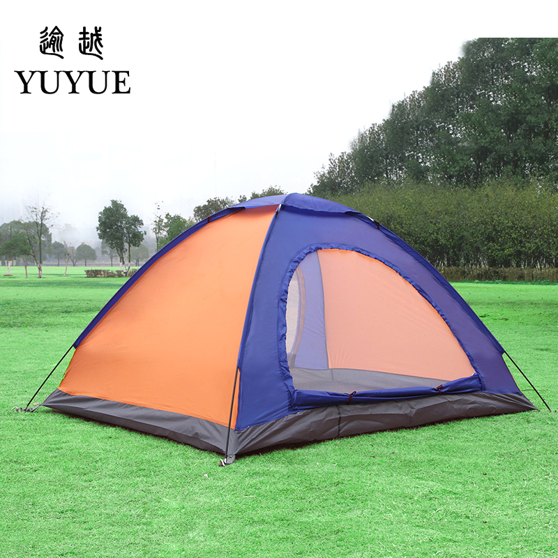 2 person UV protection camping tents for cleary day hiking tent for winter fishing double layer outdoor ultralight tent   3