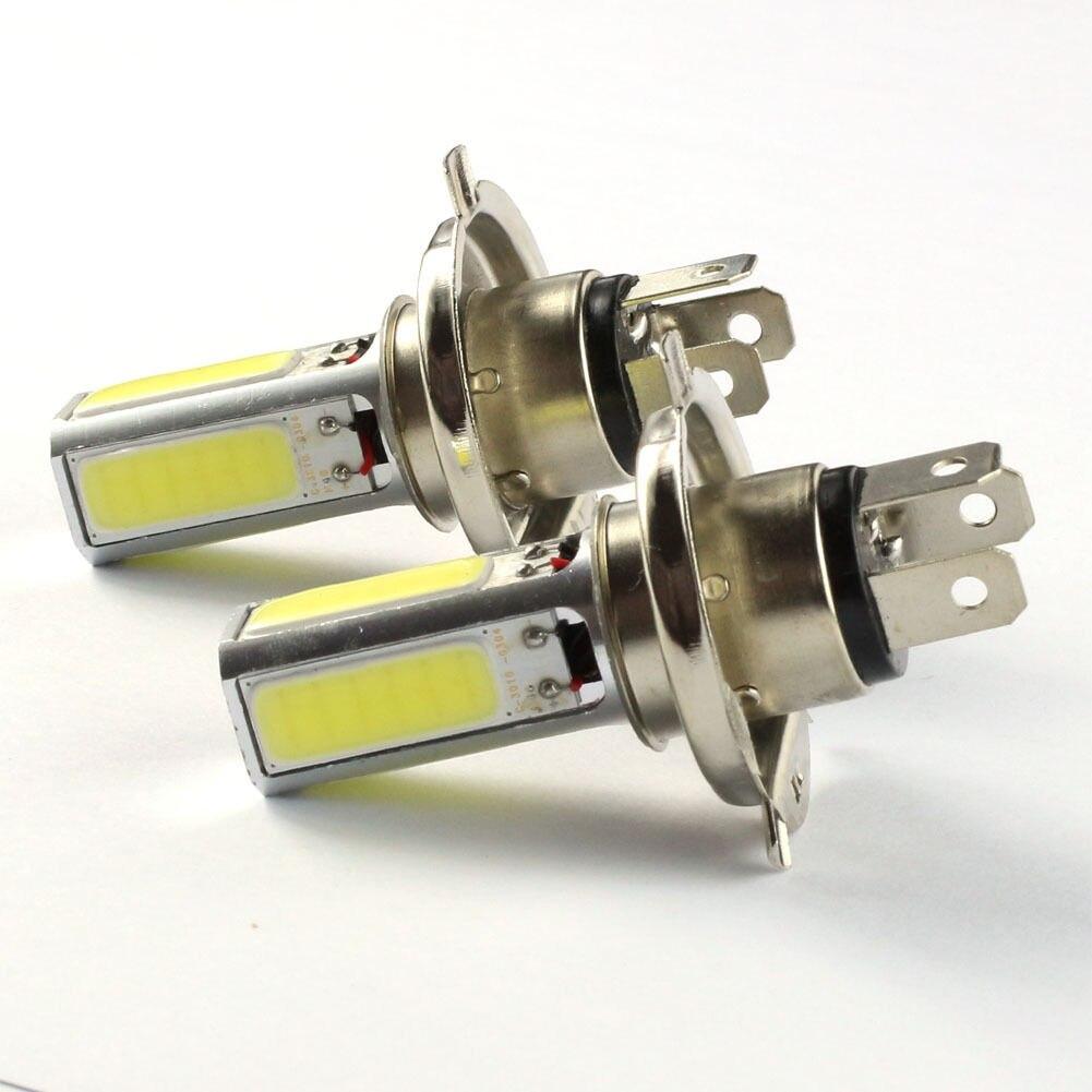 2pcs Car White 6000K H4 HB2 LED Fog Driving Headlight Lights reading lights2pcs Car White 6000K H4 HB2 LED Fog Driving Headlight Lights reading lights