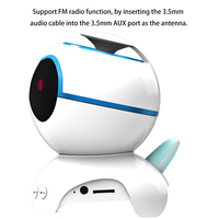 HOT Dog Shaped Wireless Bluetooth Super Bass Stereo Speaker with Noise Reduction Microphone BUS66