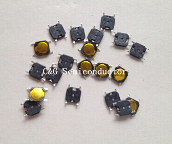 1000pcs 4*4*0.8mm Tactile Push Button Switch Momentary Tact Smd 4pin Waterproof Copper Head Cover 4x4x0.8mm 4x4x0.8mm Transistor Making Things Convenient For The People