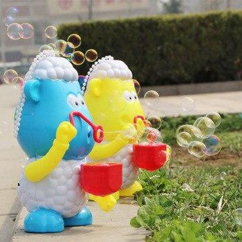 Máquina | Máquina de bolha Automático Bolha Durável Ventilador para Crianças | Simples e fácil de Usar para As Crianças, Cor Aleatória