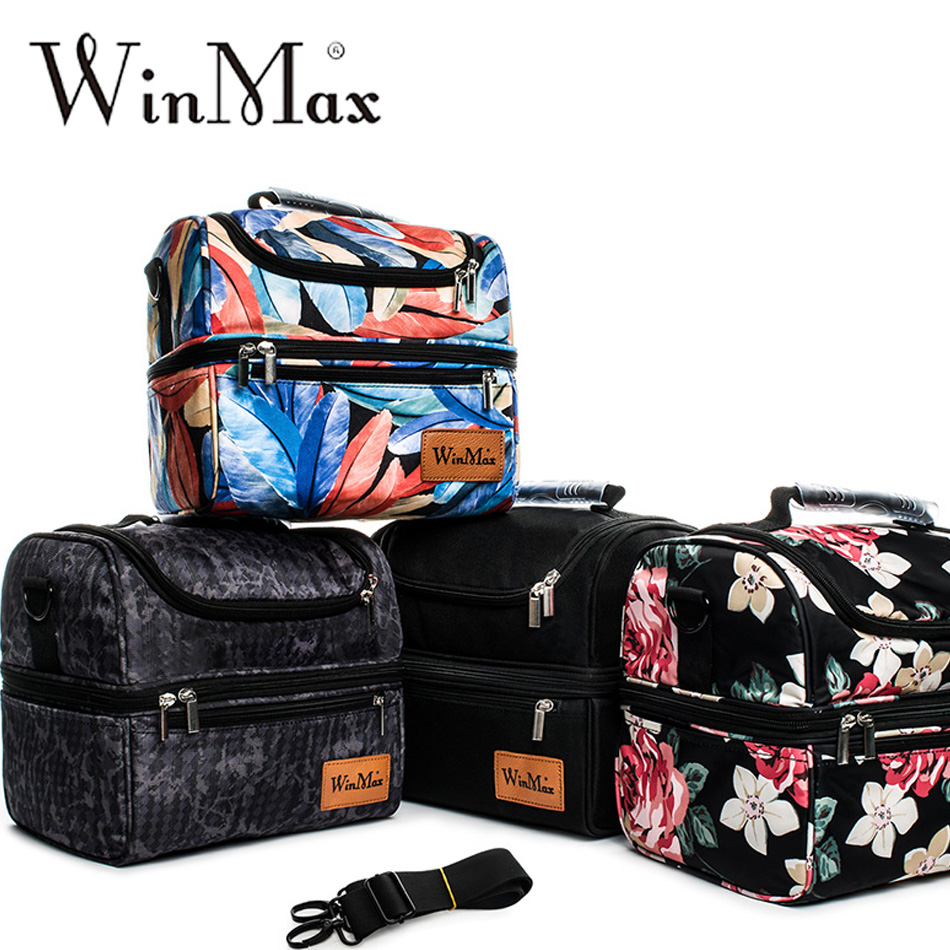 Winmax Design Insulated Lunch Bag for Women Food Fresh Keep Male Outing Cooler Bag Picnic Thermal Pizza Delivery Bolsa Termica ...
