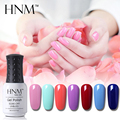HNM 8ml UV Gel Nail Polish 1pcs Nail Gel UV Led Lamp Soak Off Gel Polish Gel Lak Vernis Semi Permanent Gelpolish 58 Colors