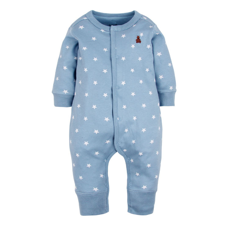 2017 new Baby Girls & Boys Pajamas, 100% cotton brand jumpsuits meninas clothes babies , newborn 3-24M  rompers baby clothes baby rompers newborn clothes baby clothing set boys girls brand new 100%cotton jumpsuits short sleeve overalls coveralls bebe