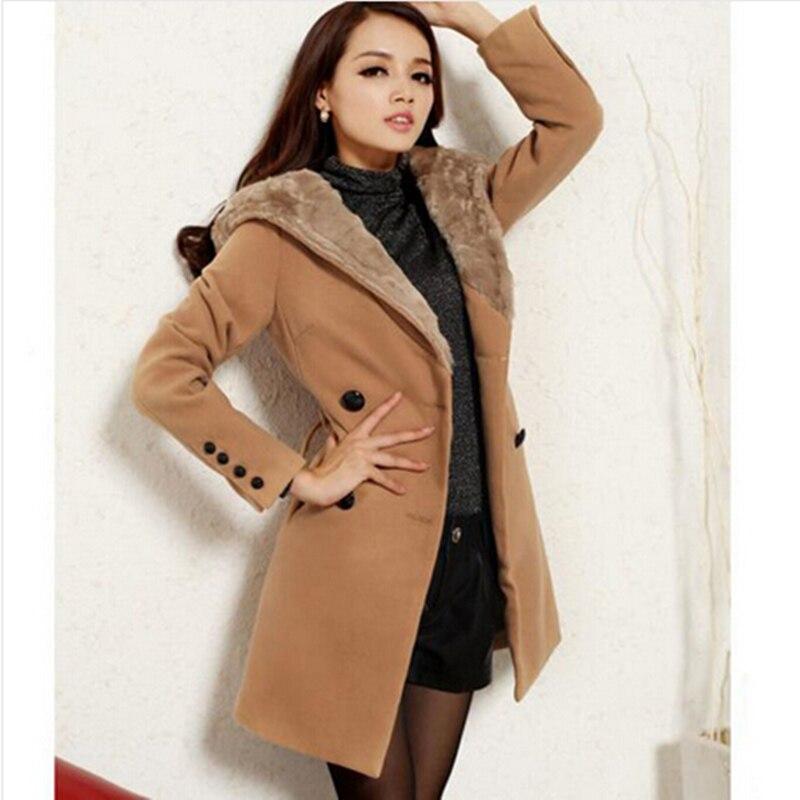 Naluola! New Fashion Winter Coat Women Long Wool Coats Women Jackets Womenu0026#39;s Designer Wool ...