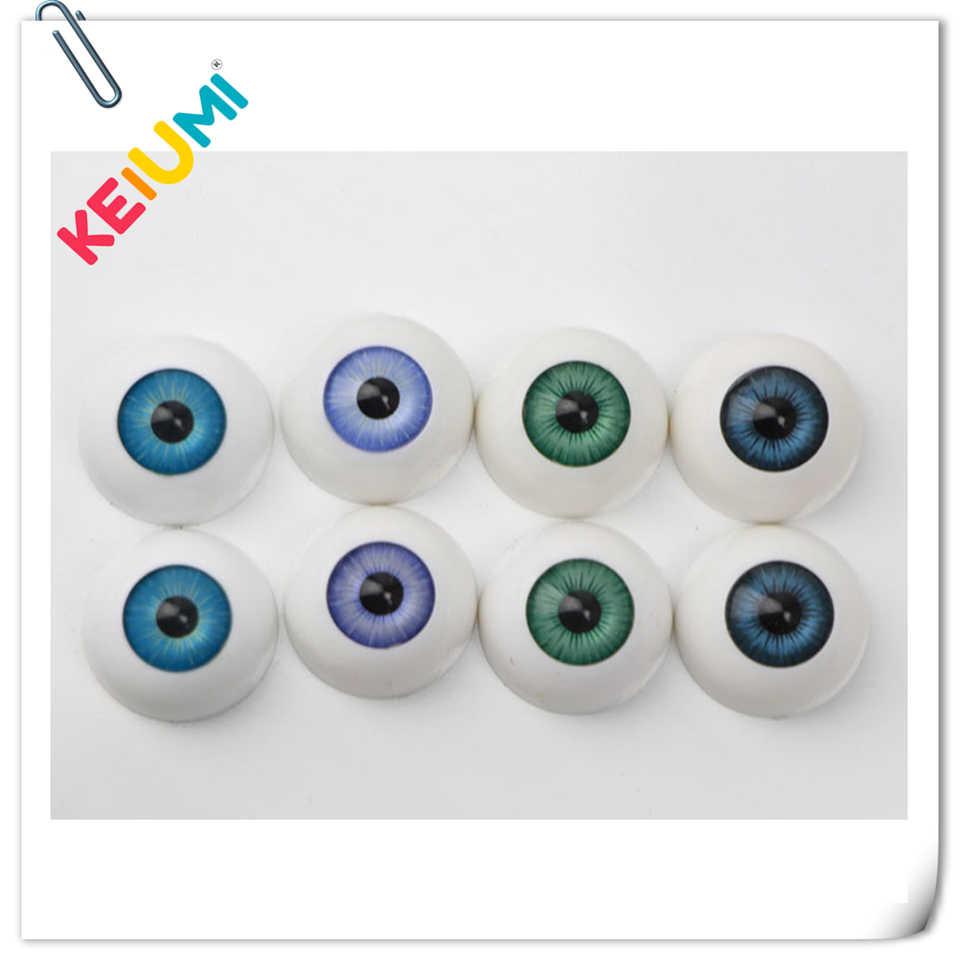10 Pairs Acrylic Eyeballs Eyes for Newborn Baby Doll BJD Doll DIY 22//24mm
