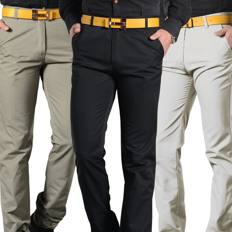 Online Shop 2015 New Arrival Fashion Casual Pants Men Office Style ...
