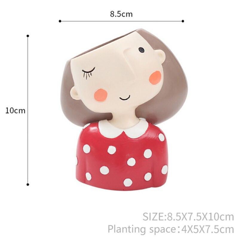 HTB10t0.XjnuK1RkSmFPq6AuzFXax - Succulent Flower Planter Plant Pot Girl Flower Planter Flowerpot