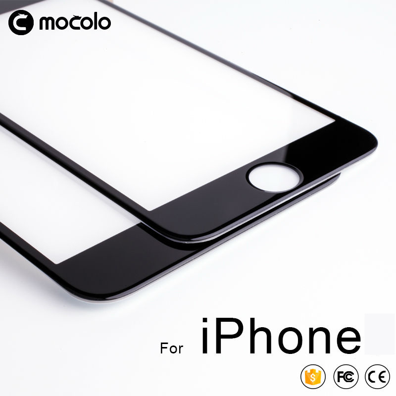 for iPhone 8 7 6 6s Screen Protector Mocolo Real 3D Full Cover 9H Tempered Glass Film for iPhone X Xs Xs Max XR Screen Protector|tempered glass film|glass film|screen protector - title=
