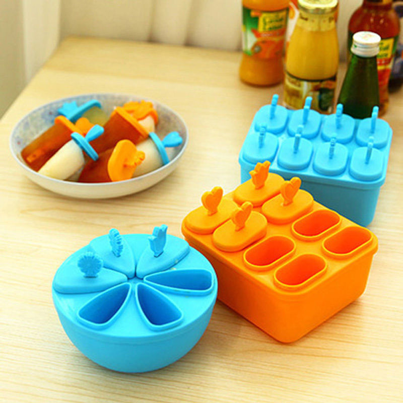 Pop Popsicle Maker Lolly Mould Tray Kitchen Frozen Ice Cream DIY Mold Ice Cream Tools Kitchen Accessories