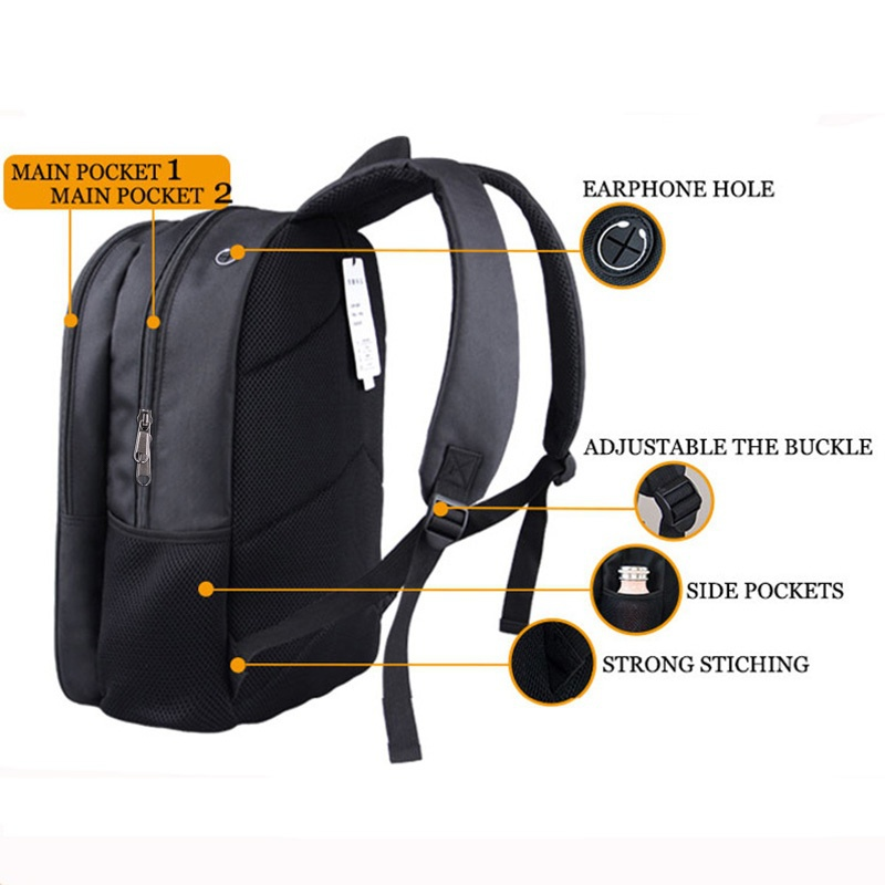 Music Playing Piano Backpack