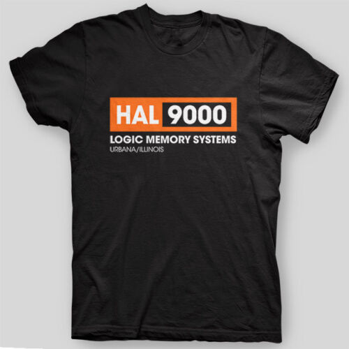 Hal 9000 Stanley <font><b>Kubrick</b></font> 2001 Space Odyssey Ufo Sci Fi Tshirt Brand 2019 Male Short Sleeve Cool Designs Best Selling Men T Shirt image