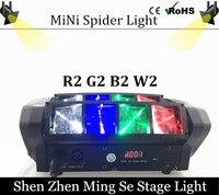 Hot Portable NEW Moving Head Light Mini LED Spider 8x6W RGBW Beam Light Good Quality Fast