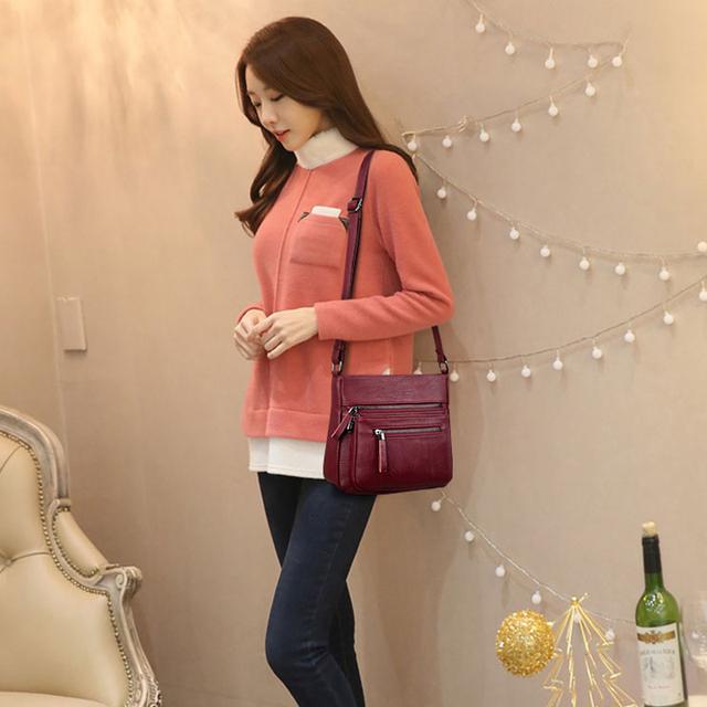 Kavard Women Messenger Bags High Quality Woman Leather Handbags Small Flap Purses Bags Handbags Women Famous Brands Girls Bag