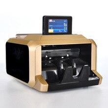 Деньги Билл счетчик мультивалютный денежных автоматический счетчик денег Счетная машина с УФ MG детектор