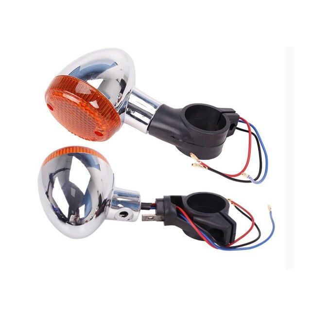 Motorfiets Voor & Achter Richtingaanwijzer Indicator W/ Rubber Beugel Voor Honda Rebel CMX250 96-11 CA250 96-12 CMX250C 03-11