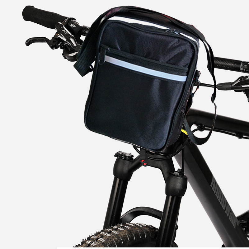 Bicycle Bag Waterproof Bike Bags Cycling Rear Rack Insulated Storage Bag Night Reflective Strip MTB Bike Shoulder Bags in Bicycle Bags Panniers from Sports Entertainment