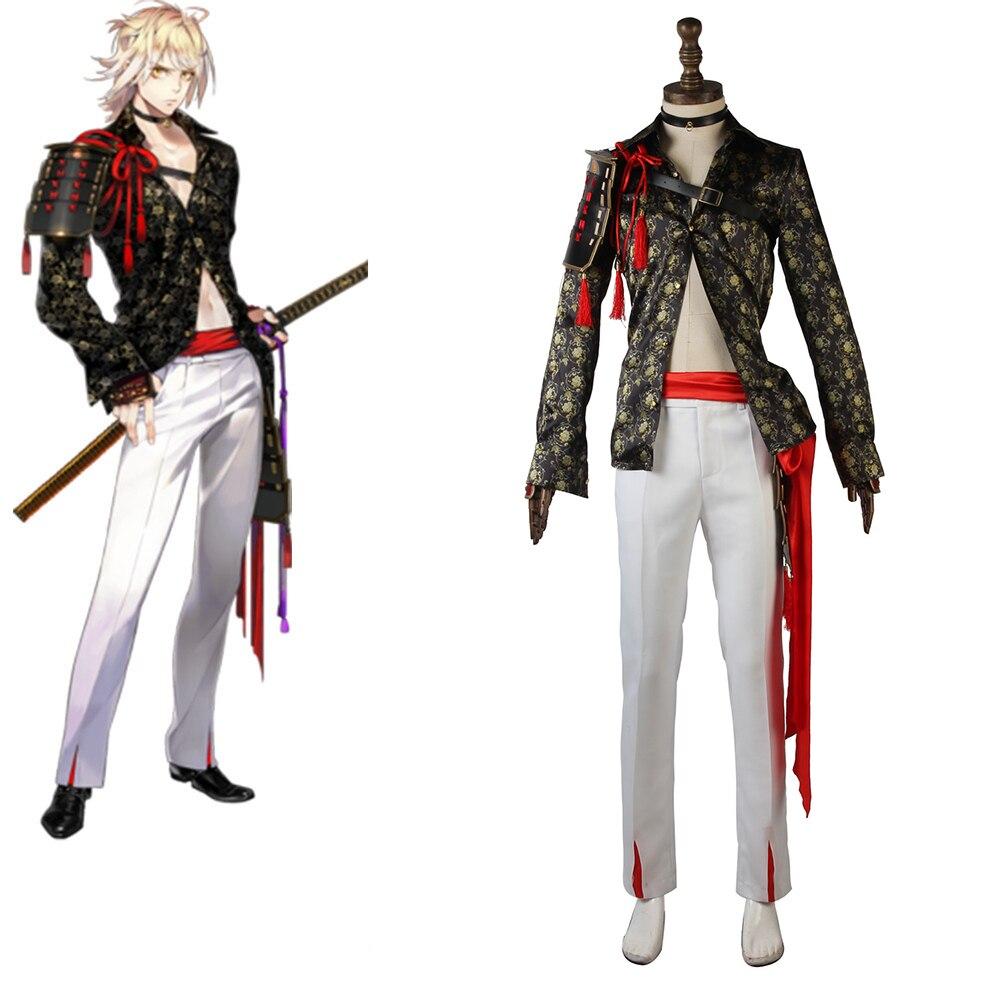 Cosplaydiy Touken Ranbu Online Nansen Ichimonji Cosplay Costume Adult Cosplay Suit L320
