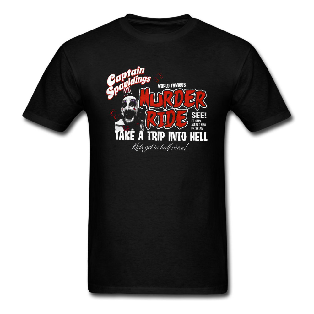2017 latest fashion captain spaulding house of 1000 corpses the devils rejects t shirt men women