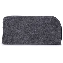 NoEnName_Null Glasses Bag Felt Fashion Sunglasses Box Zipper Storage Carry Case Cosmetic Pouch 2018 New(China)