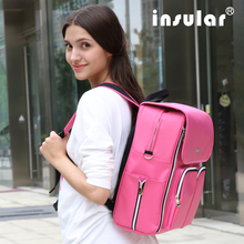 2016 New Style Shipping Free Heavy Duty Baby Diaper Backpack Fashion Multifunctional Mommy Bag Backpack